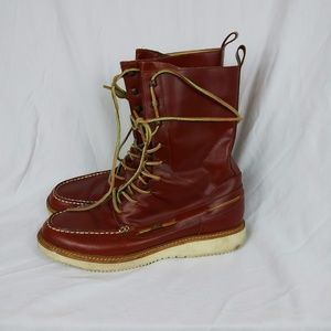 Mens Vael Project Deckard Tall Boots Leather US 13